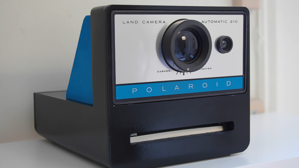 What if you had a Polaroid camera hooked up to your Print Screen button?