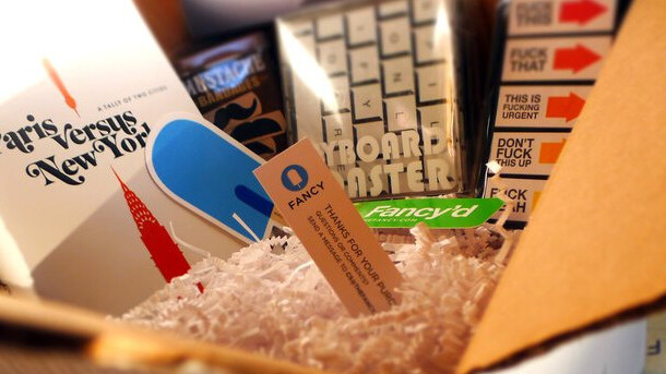 Fancy gets its influential users to curate their own monthly subscription boxes, will split the profits