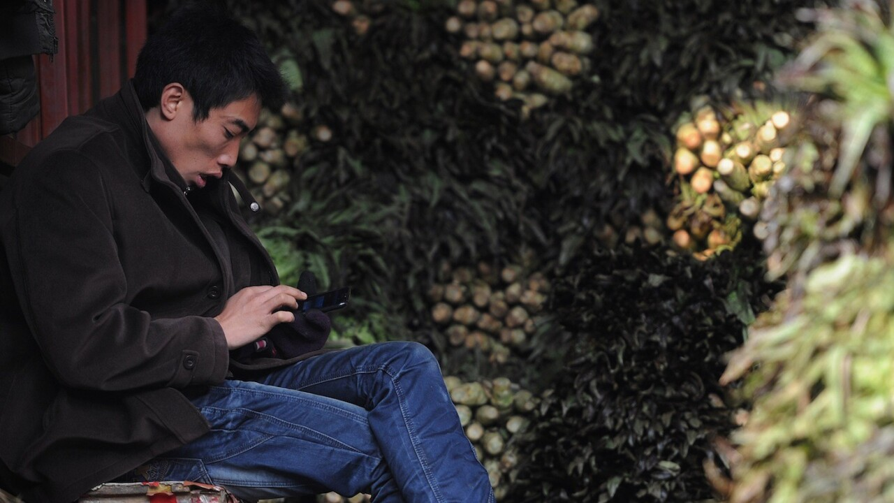 SMS growth in China slows as mobile users turn to alternatives like Tencent's WeChat