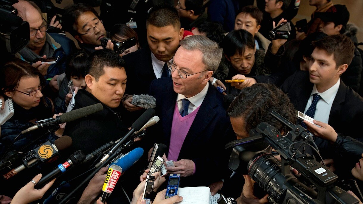 After North Korea trip, Google's Eric Schmidt swings by China to woo Android developers