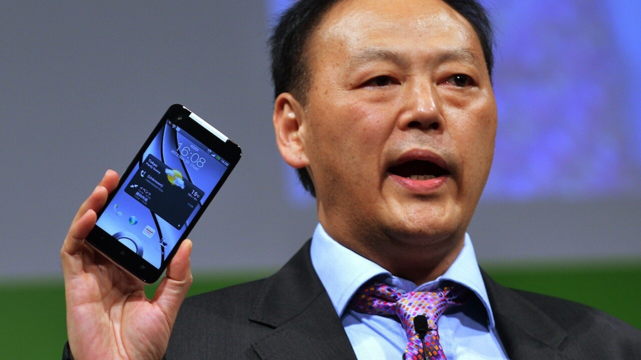 """HTC CEO admits to marketing failures in 2012 as rivals proved """"too strong"""""""