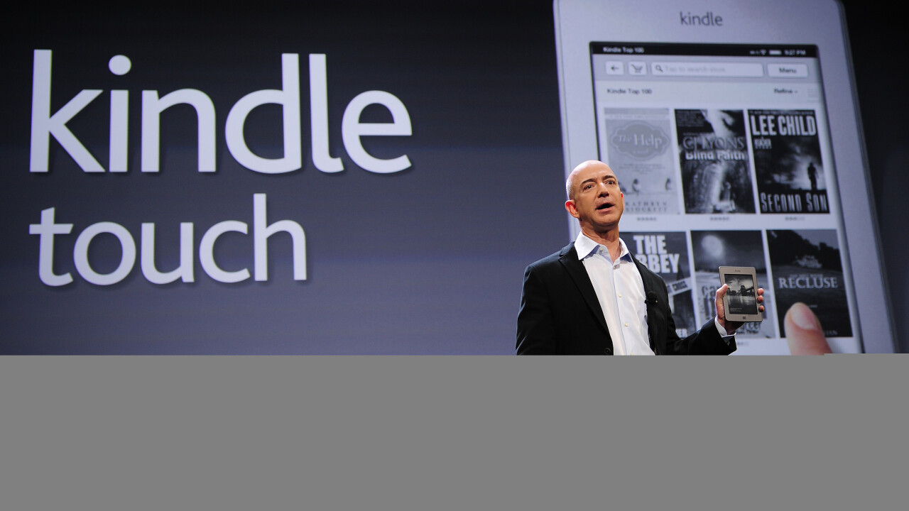 Amazon breathes new life into Kindle Touch. Major update adds Whispersync for Voice, new UI and more