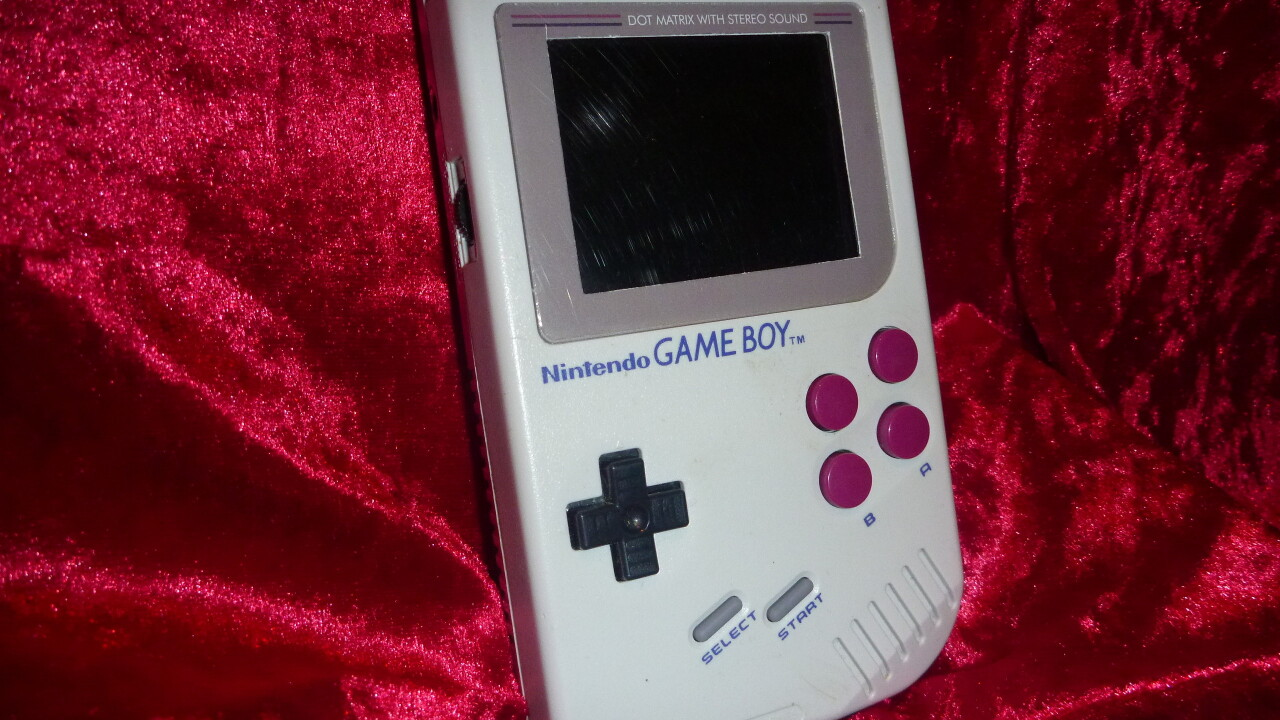 The Gameboo looks and feels like a Game Boy… but oh, it's so much more