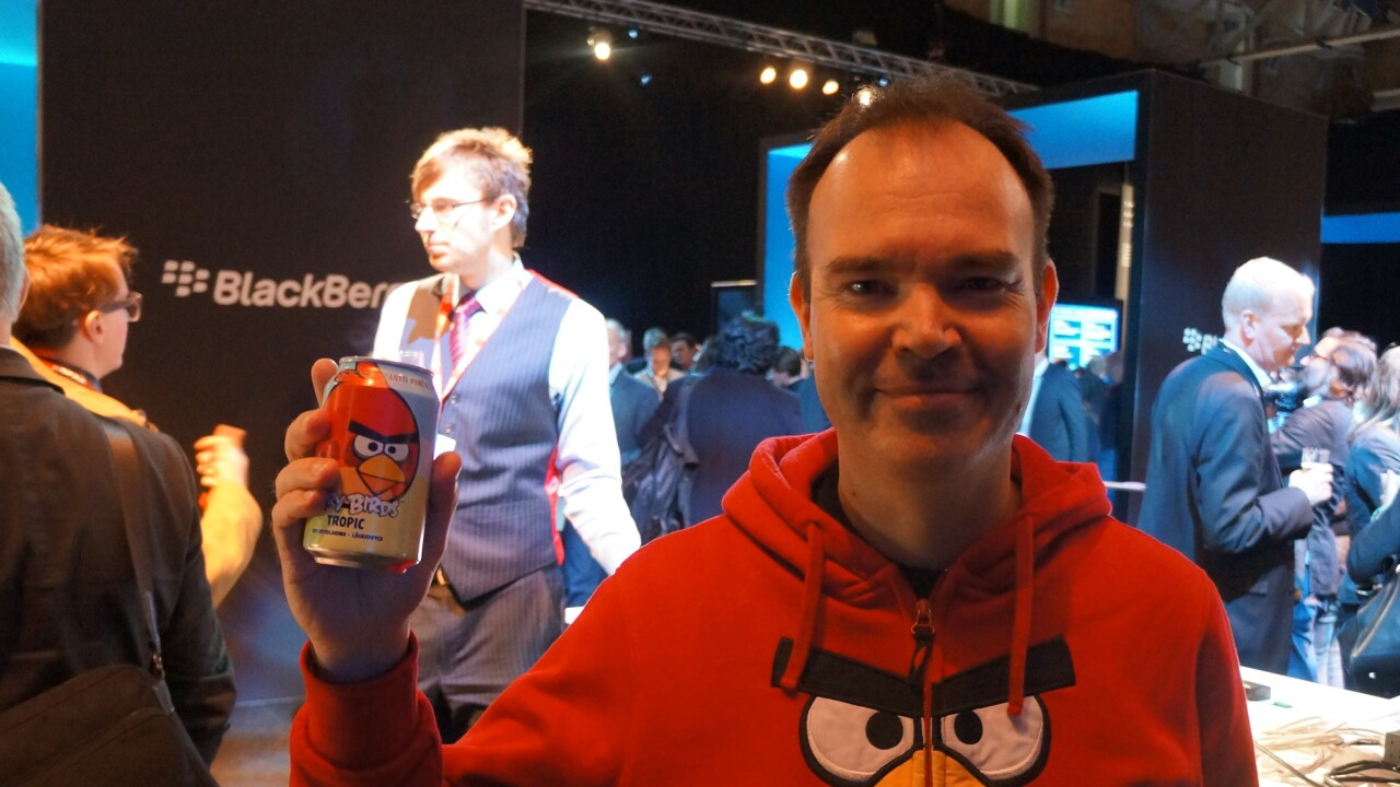 Rovio's Angry Birds soda now on sale in Russia, Australia, New Zealand and Spain, UK coming soon