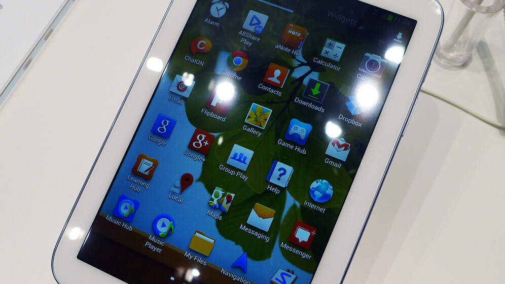 Hands-on with the Samung Galaxy Note 8.0, a new Android tablet chasing the Nexus 7 and iPad Mini