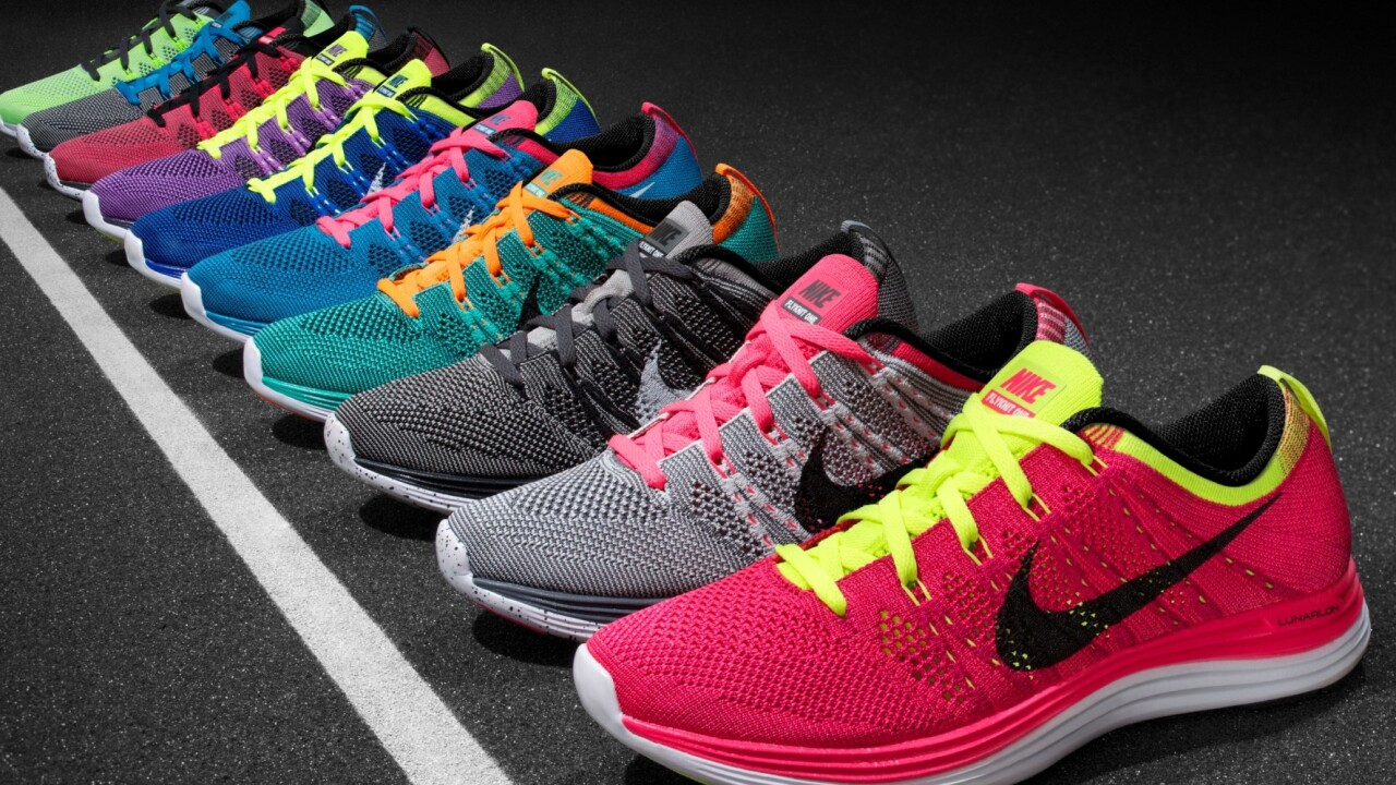 Watch: Nike's new Flyknit Lunar1+ running shoes can be steam-fitted in-store