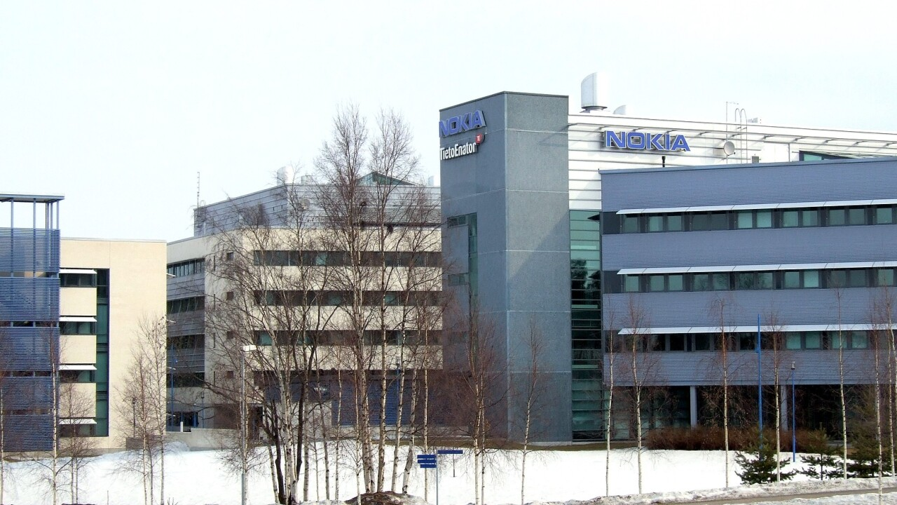 Nokia sells its Oulu campus to Finnish business space provider Technopolis for $40.8 million