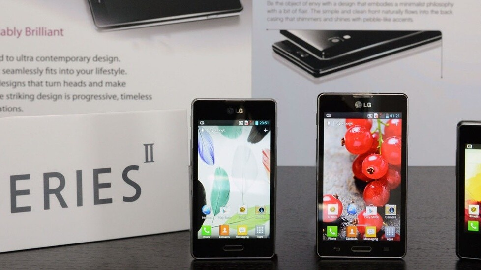 LG announces Optimus L Series II devices; L7II debuts in Russia this week, L3II and L5II 'coming soon'