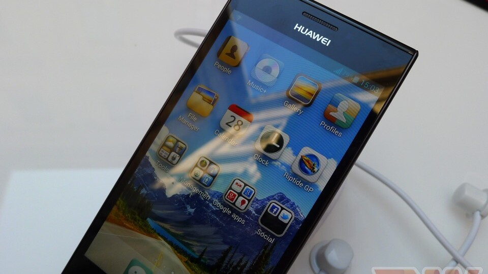 Hands-on with Huawei's new Android flagship: the Ascend P2