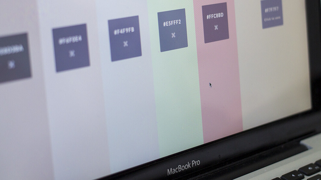 This color picker's unique, minimal interface is surprisingly intuitive and useful