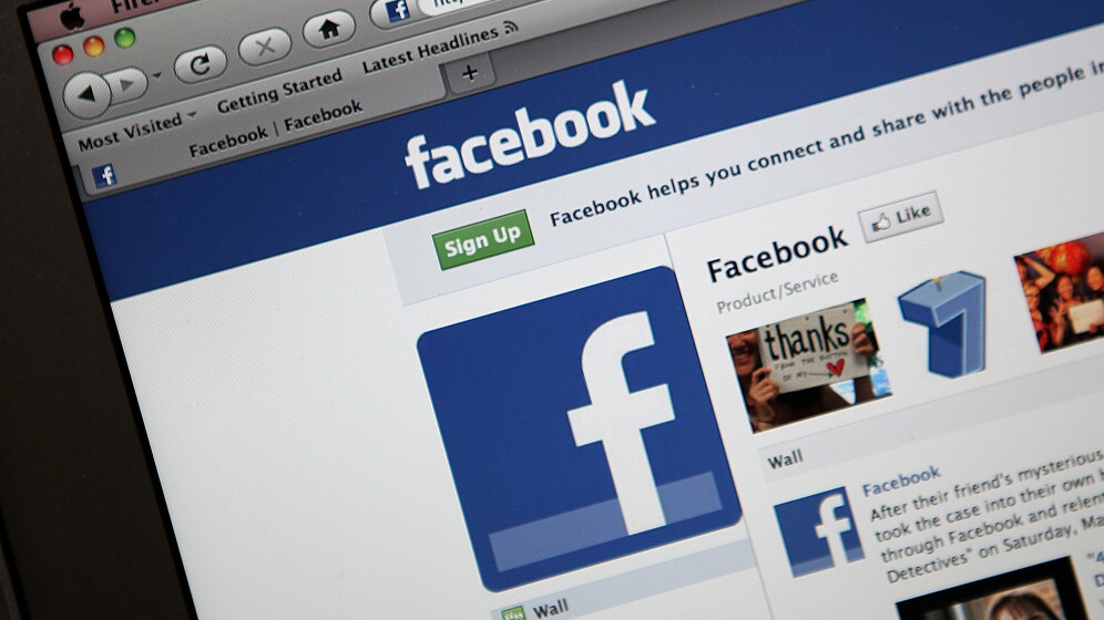 Facebook is currently down for many users (Update: It's back)