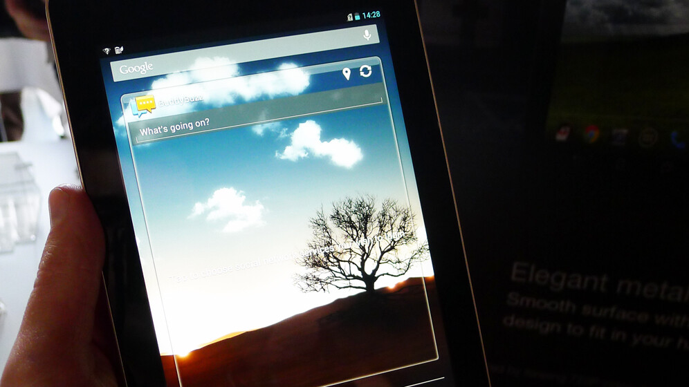 Hands-on with the 7-inch ASUS Fonepad: A full HD Android tablet that can also make phone calls