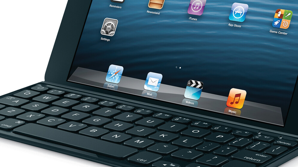 Logitech launches its Ultrathin Keyboard Case for the iPad mini