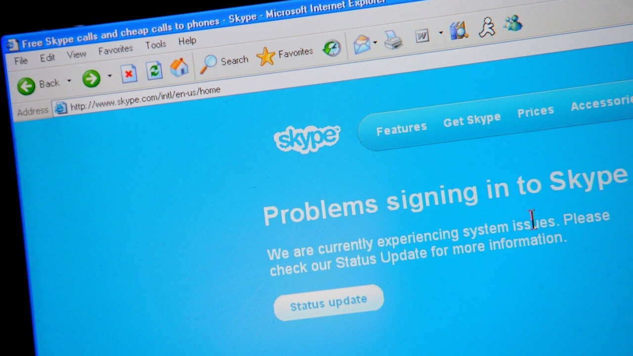 Skype may face criminal charges if it doesn't let French police listen in on calls