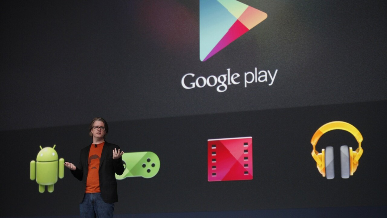 Google Play begins designating apps specifically made for tablets
