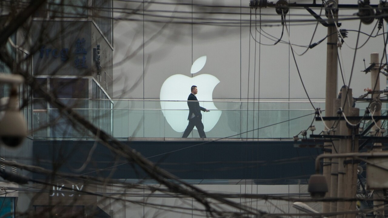 Apple's China woes mount as Shanghai film studio reportedly sues it over unauthorized App Store downloads