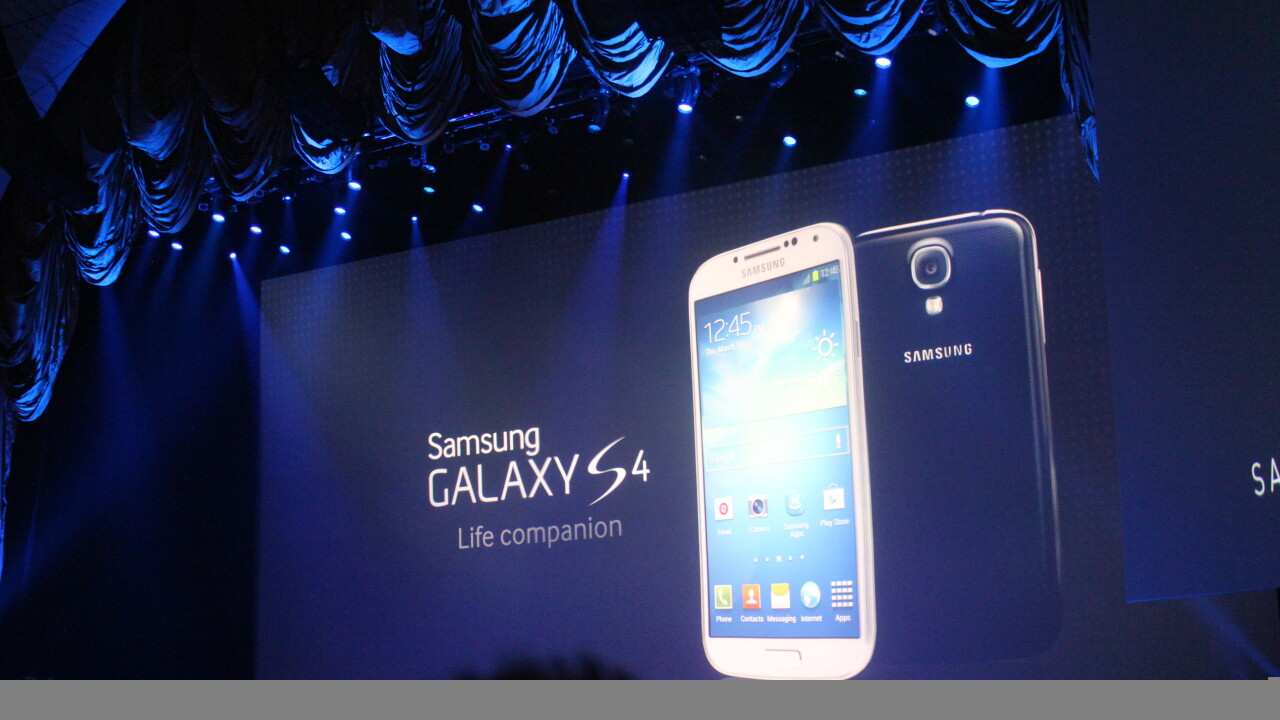 Hands-on with the newly announced Samsung Galaxy S 4 [Video]
