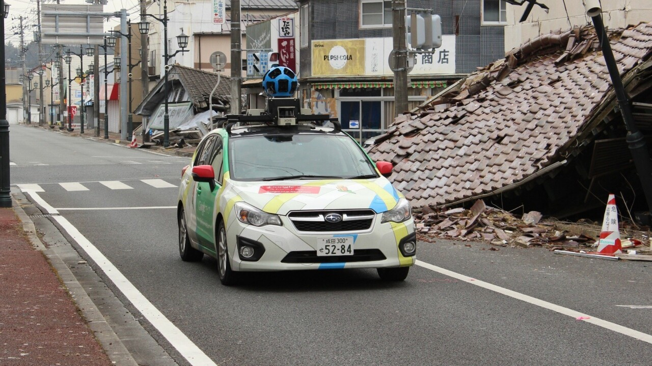 Google adds Namie-machi to Street View, a small city left deserted by the Fukushima disaster