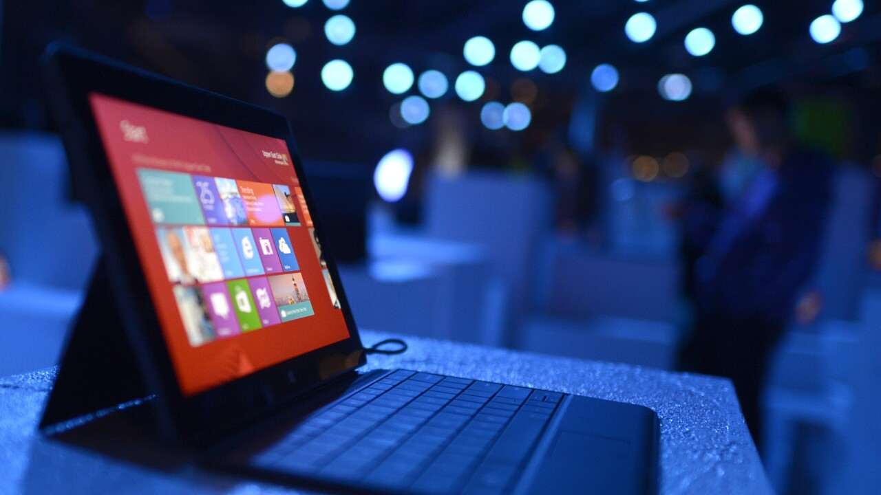 Microsoft launches bulk sales of its Surface tablet hybrids