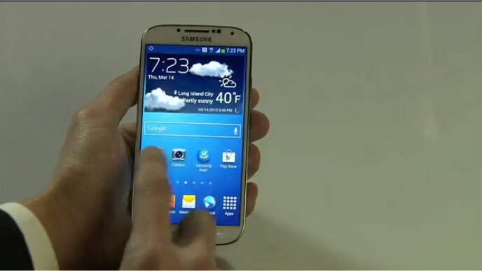 Samsung Galaxy S 4 announced: 5″ 441 ppi screen, 13 mp camera, Android 4.2, 4G LTE, available April