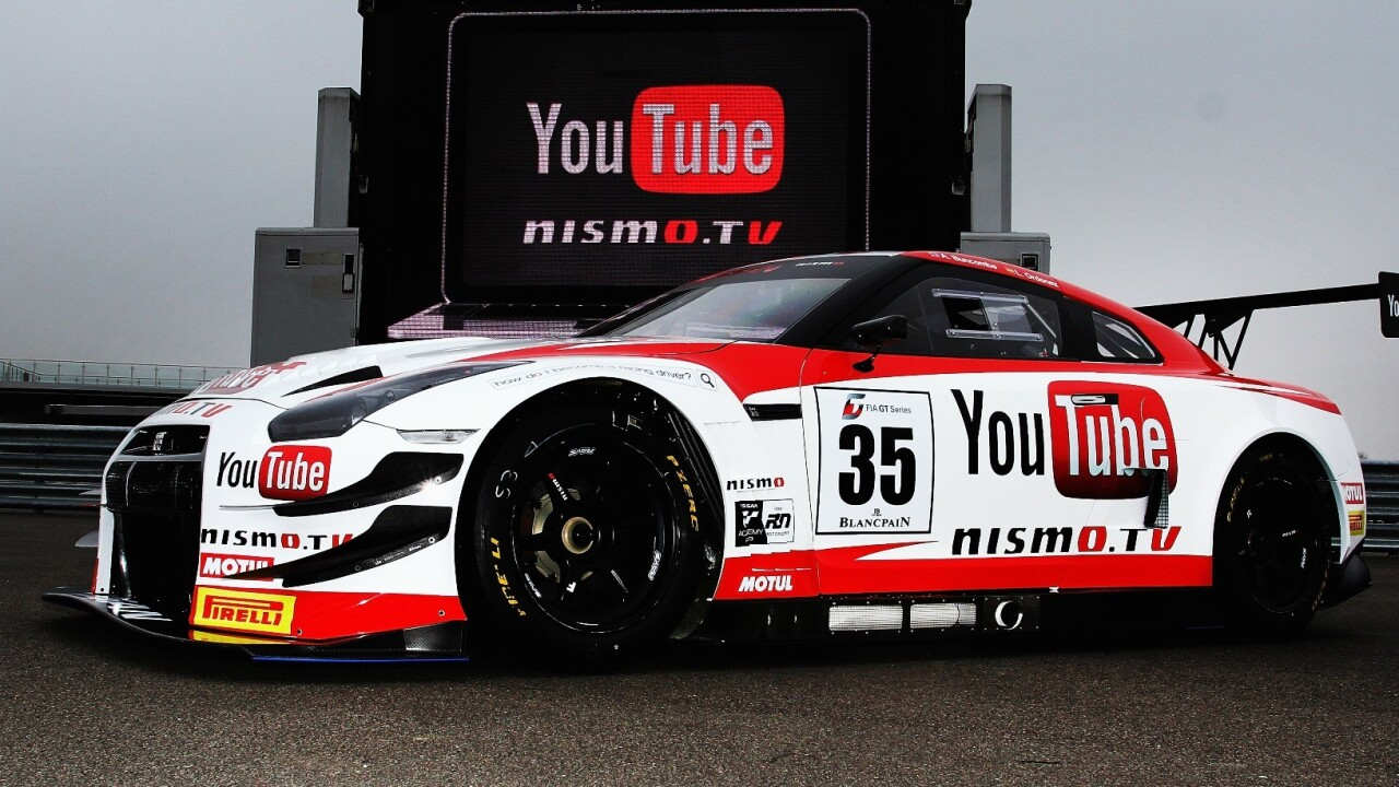 Nismo.TV: Nissan inks YouTube motorsport content deal, includes YouTube-branded race cars