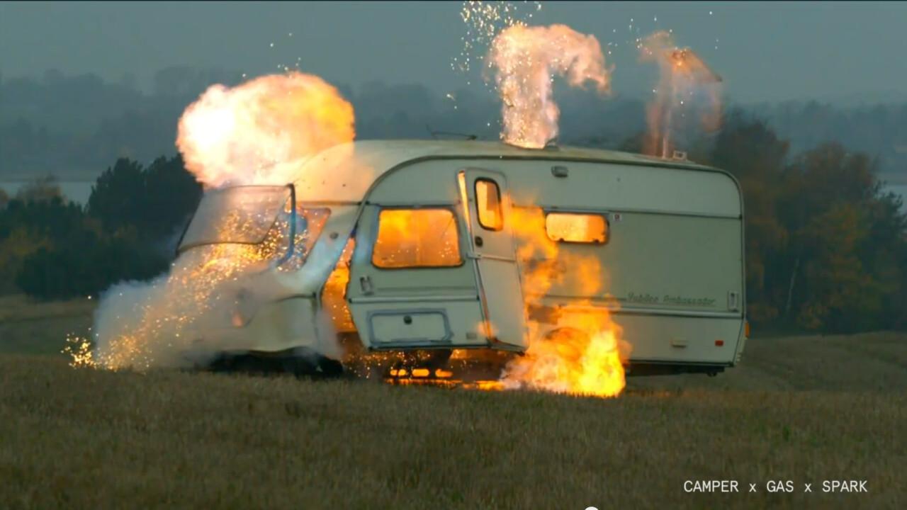 Dumt & Farligt's totally absurd super-slow-motion destruction footage is back for a second season