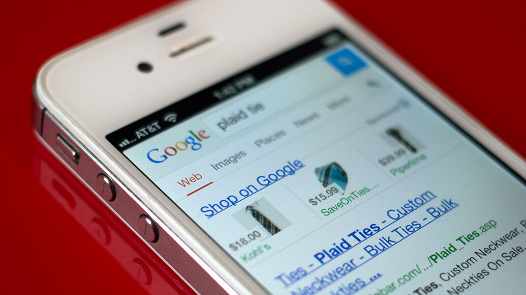 Google continues to push ad-based shopping results, launches Product Listing Ads on smartphones