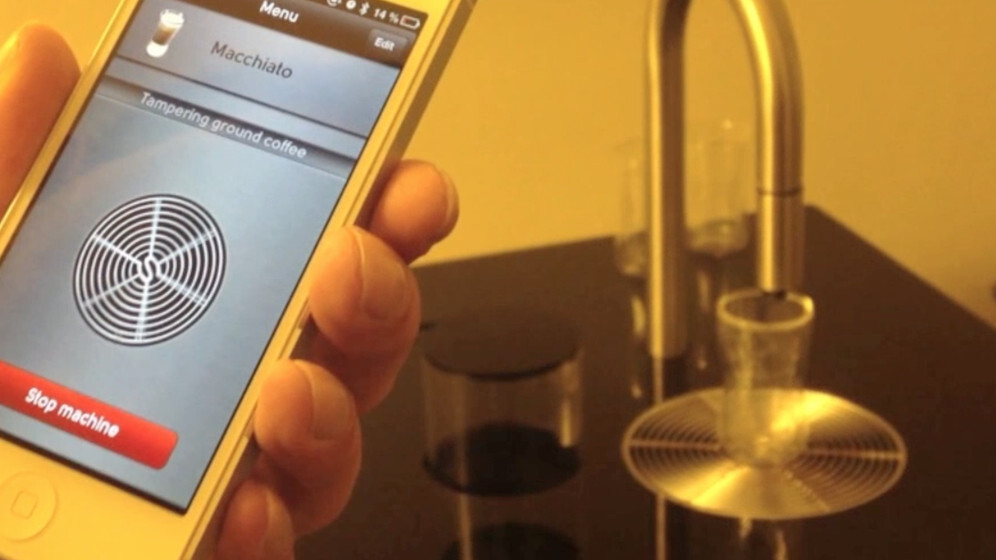 Here's an iPhone app that makes coffee. Does life get any better than this? [Video]