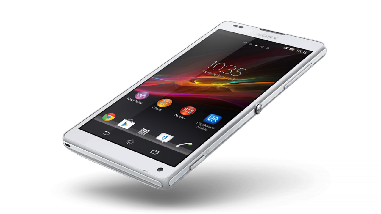 Sony's high-end Xperia ZL smartphone now up for pre-order in the US ($759.99)