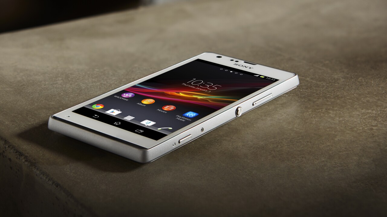 Sony unveils new low-end Xperia L and mid-range Xperia SP Android smartphones, launching Q2 2013