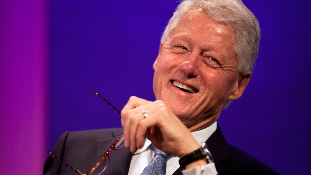 Former US President Bill Clinton officially joins Twitter