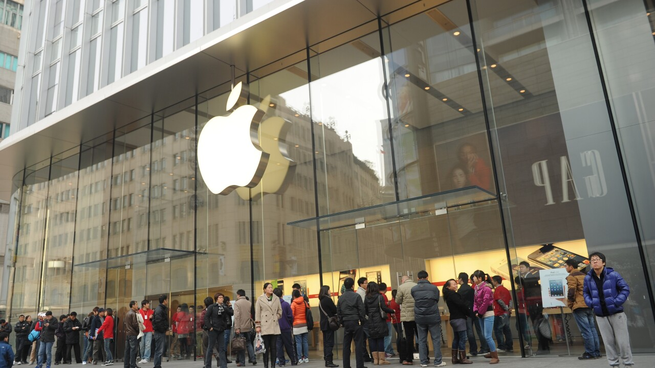 Apple earns $5.2B in Q2 2013 from 91M visitors to Retail Stores, seeks to double outlets in China