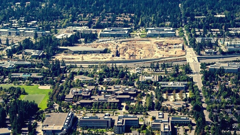 Throwback: A time-lapse clip of Microsoft building its first headquarters in Washington