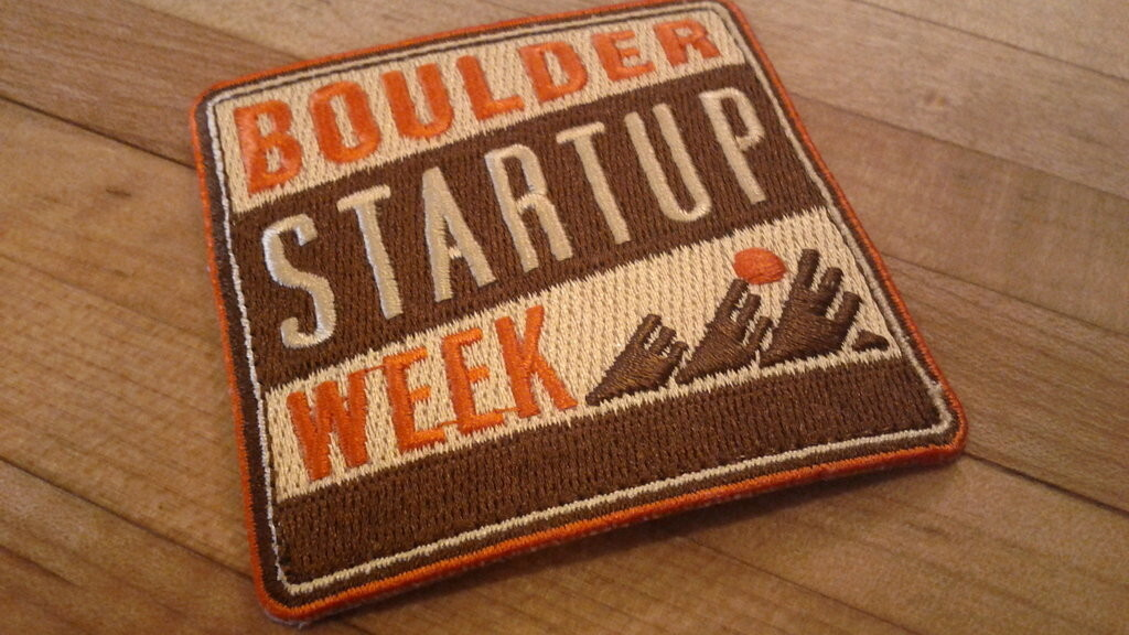 Boulder Startup Week is May 15th through 19th, and you might get flown in for free