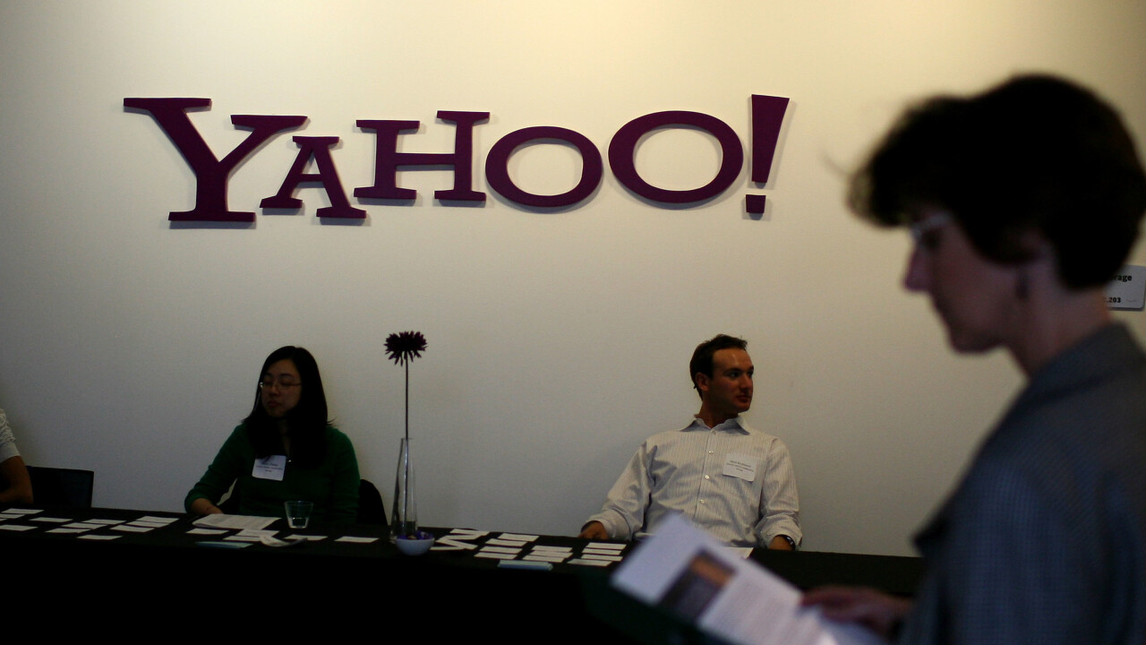 Yahoo's Mayer says long-term success depends on a 'series of sprints' including recent talent tear