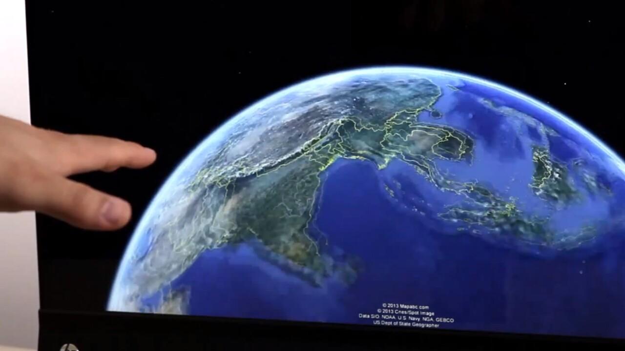 Desktop version of Google Earth 7.1 gets gesture-driven Leap Motion controller support