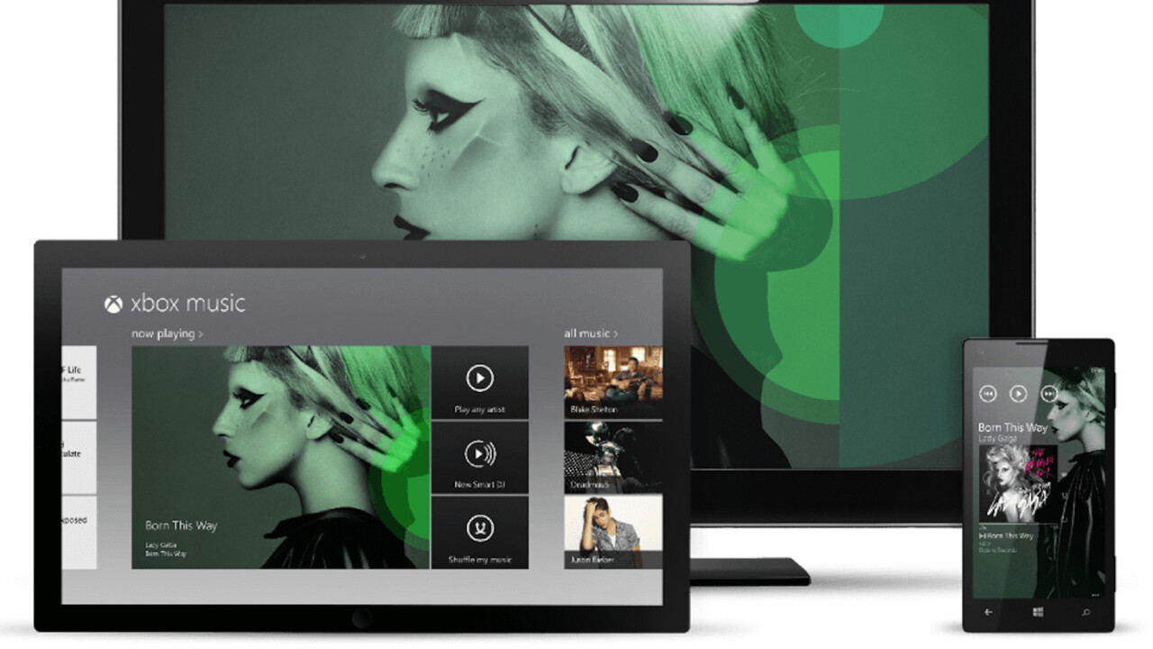 Microsoft will monetize free Xbox Music streams by serving audio ads from TargetSpot