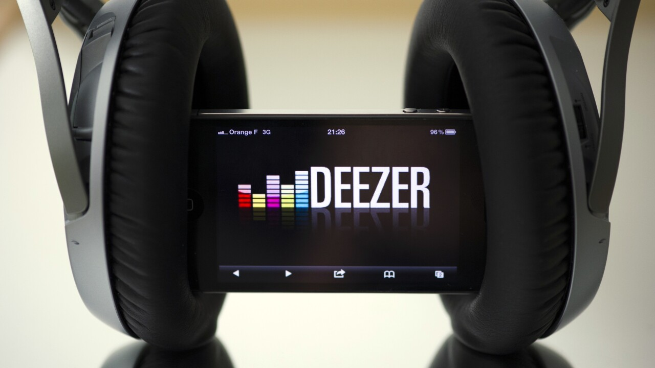 Deezer launches Windows 8 app for its on-demand music streaming service ahead of Spotify and Rdio