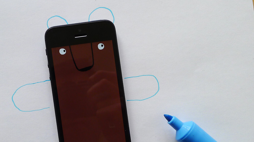 DRAWNIMAL for iOS is the perfect way to teach your child the alphabet and get them excited about art