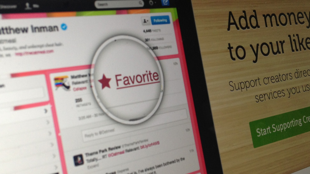 Twitter cuts off another payment service: Flattr is told to stop tying Favorites to money
