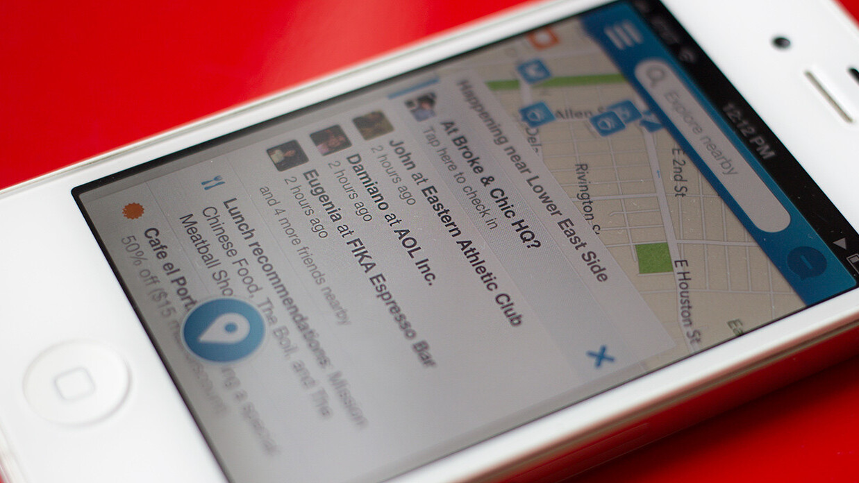 Foursquare will start charging the heaviest users of its places database