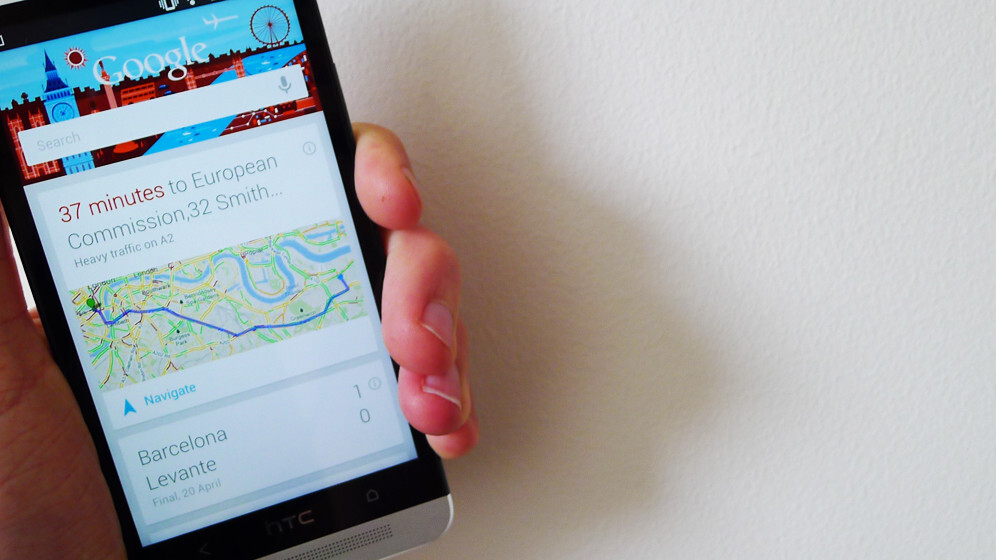 Google Now could be added to the search giant's homepage in the not too distant future