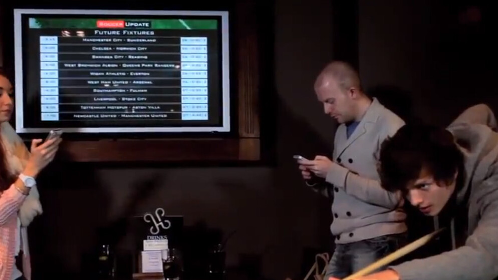 Screach lands $2.5m to make screens interactive in bars across the UK and beyond