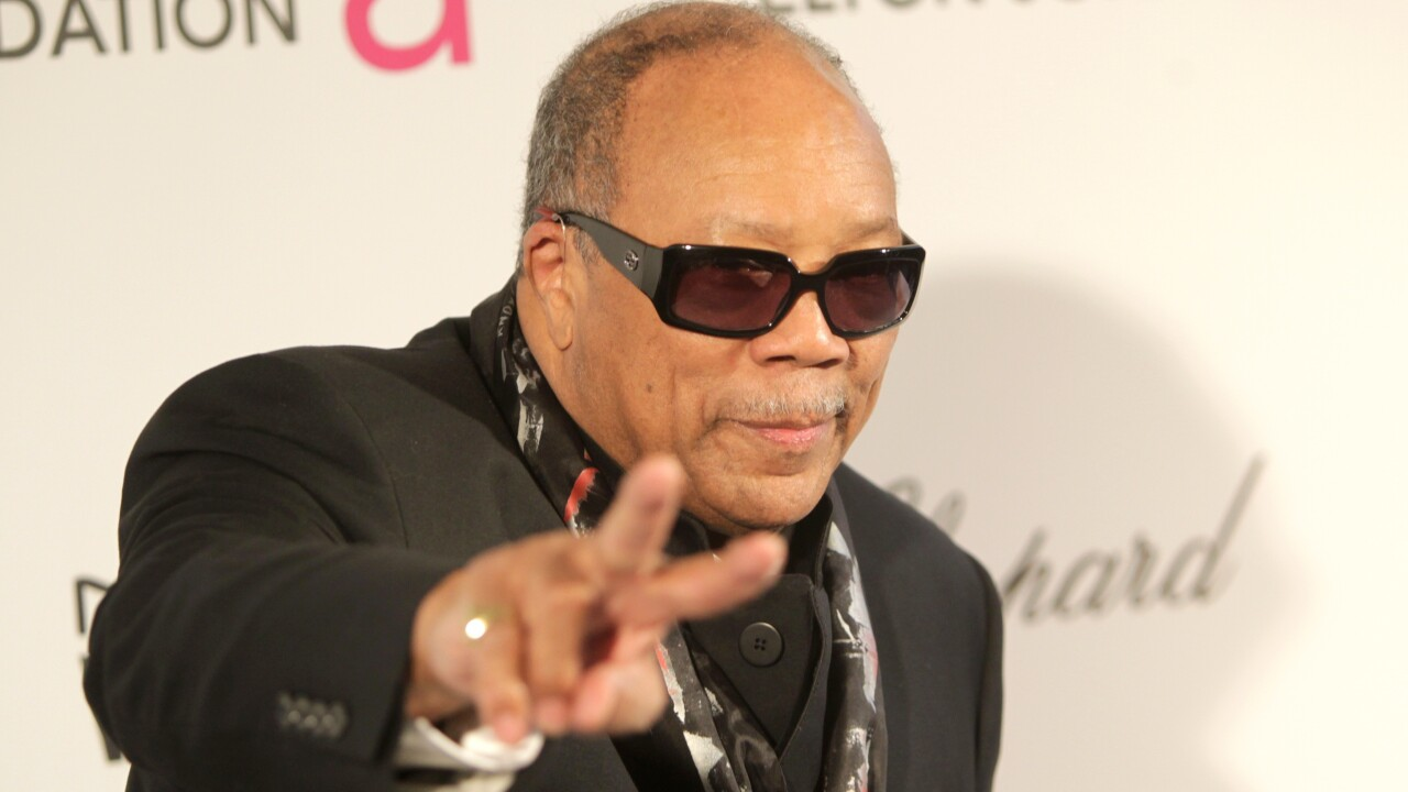 Quincy Jones on technology, music and his Playground Sessions piano learning startup
