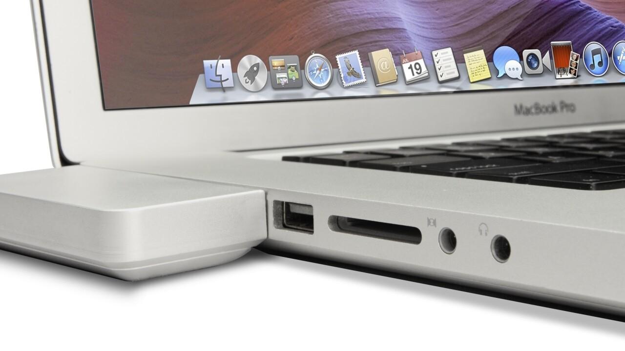 The ZenDock Kickstarter project offers an elegant way to dock your MacBook Pro