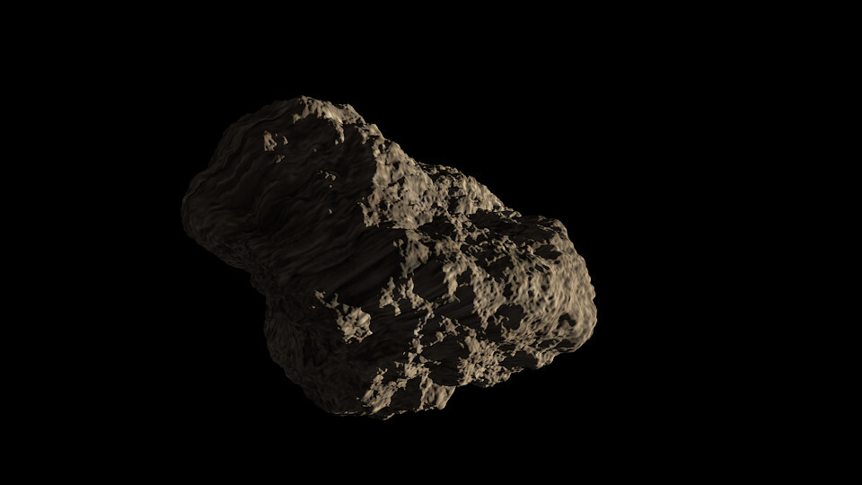 Watch the classic game Asteroids brought to the real world: You are the spaceship