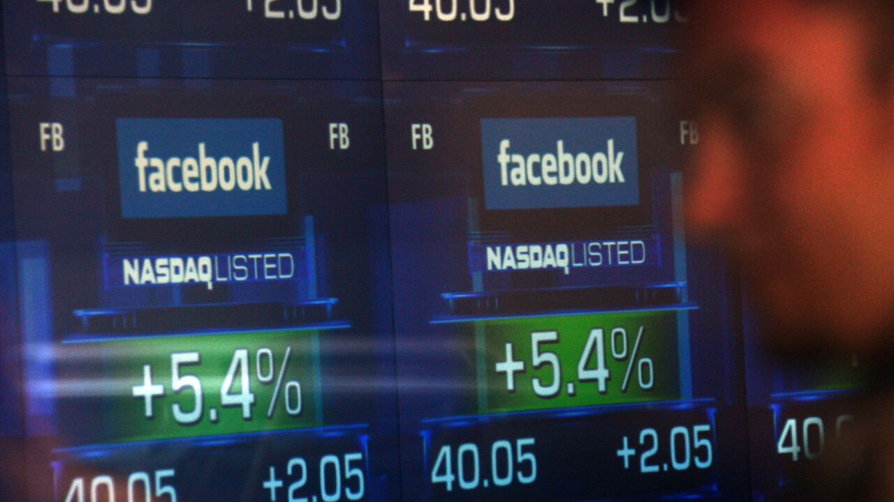 Facebook's stock has lost 31% of its value since it went public one year ago