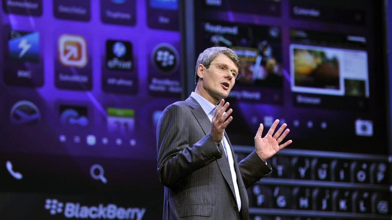 BlackBerry updates its Enterprise IM app for BB10 with Microsoft Lync and IBM Lotus Sametime support