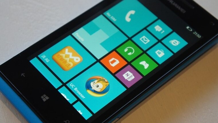 Huawei is launching the W1, its first Windows Phone 8 device, in Walmart this month