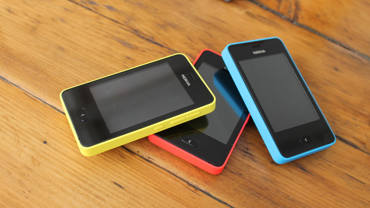 Nokia launches the first in a new family of low-end smartphones, the 2G, 3″ touchscreen Asha 501
